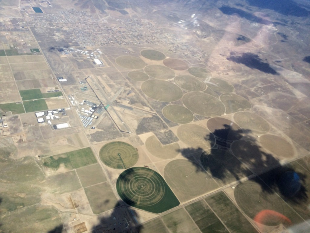 KMEV - aka Minden-Tahoe Douglas County Airport. Do the crop circles mean there are aliens here? Hmm.